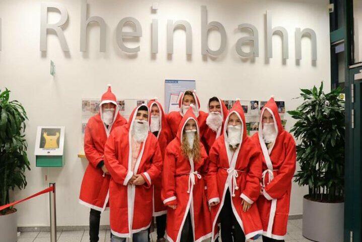 Weihnachtsaktion Rheinbahn