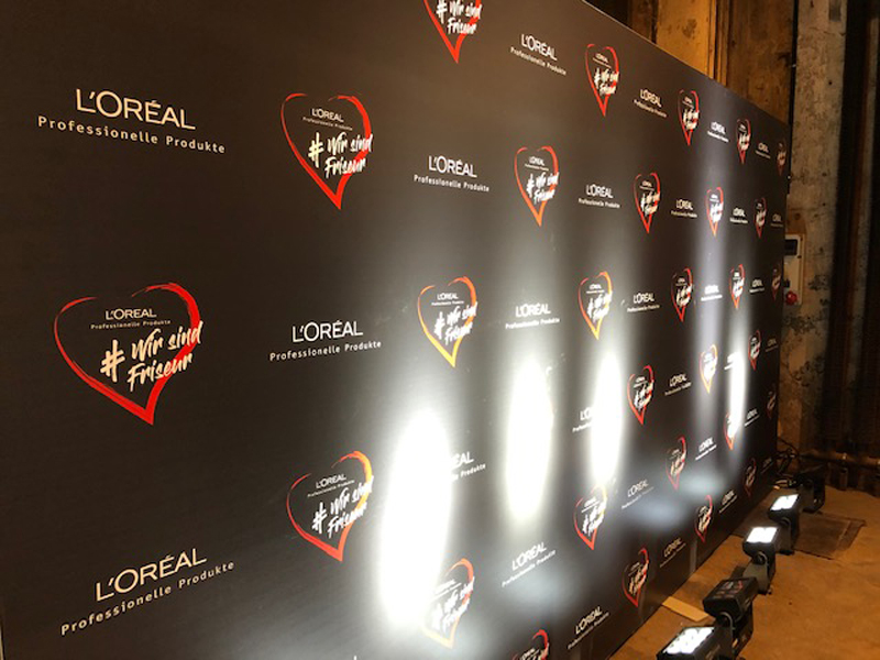 Kérastase von L'Oréal in Szene gesetzt