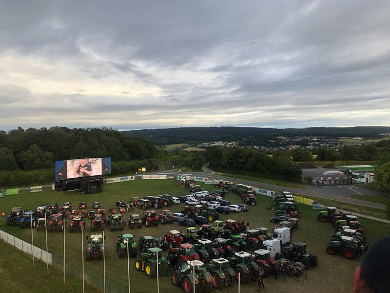 Traktor-Event im Autokino Taunusstein