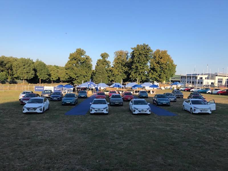 Erfolgreicher Hyundai-Medientag im Autokino!